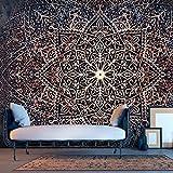 murando – Papier peint intissé 200x140 cm – Trompe l oeil - Tableaux muraux – Déco – XXL - 200x140 cm- Abstraction Mandala Orient f-C-0131-a-c
