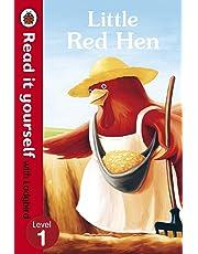 Read It Yourself Little Red Hen Level 1 (mini Hc)