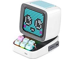 Divoom Ditoo Draagbare Bluetooth-luidspreker Met Retro pixel display, APP-Bediening Voor Smartphones/Mechanisch Toetsenbord M