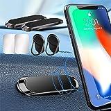 Supporto Smartphone Auto Universale, 2 Pezzi Universale Porta Cellulare da Auto Magnetico con 2 Pezzi Fogli di Metallo e 2 Su