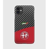 Custodie Carbon F1 Alfa Romeo per iPhone 12mini, 12, 12 pro, 12 pro max, 11, 11 pro, 11 pro max, XS, X, X max, XR, SE, 7…