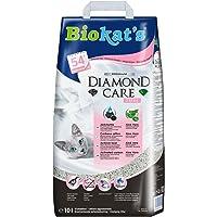 Biokat's Diamond Care Fresh Katzenstreu mit Duft   Hochwertige Klumpstreu für Katzen mit Aktivkohle und Aloe Vera