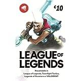 League of Legends €10 Buono regalo | Riot Points