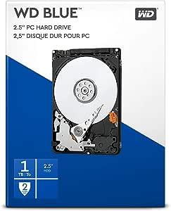 Wd Blue 1tb 2 5 Zoll Interne Festplatte 5400 Rpm Computer Zubehör