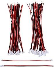 20 Paare 1,25 mm JST 2 Pin Mikro Elektronik Männlichen und Weiblichen Steckverbinder Stecker mit 10 cm Draht Kabel