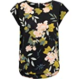 Only Printed Short Sleeved Top Canottiera Donna