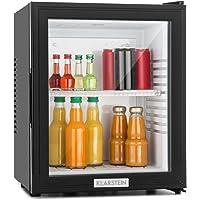Klarstein MKS-12 - Minibar, Réfrigérateur à boissons, Mini-réfrigérateur, 24 Litres, 1 étagère, Facile à nettoyer, env…