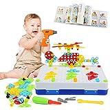LEADSTAR Tablero de Mosaico Juguete, 237 PCS Bloques Construccion Rompecabezas, Bricolaje Puzzle Infantiles Creativos Juguete