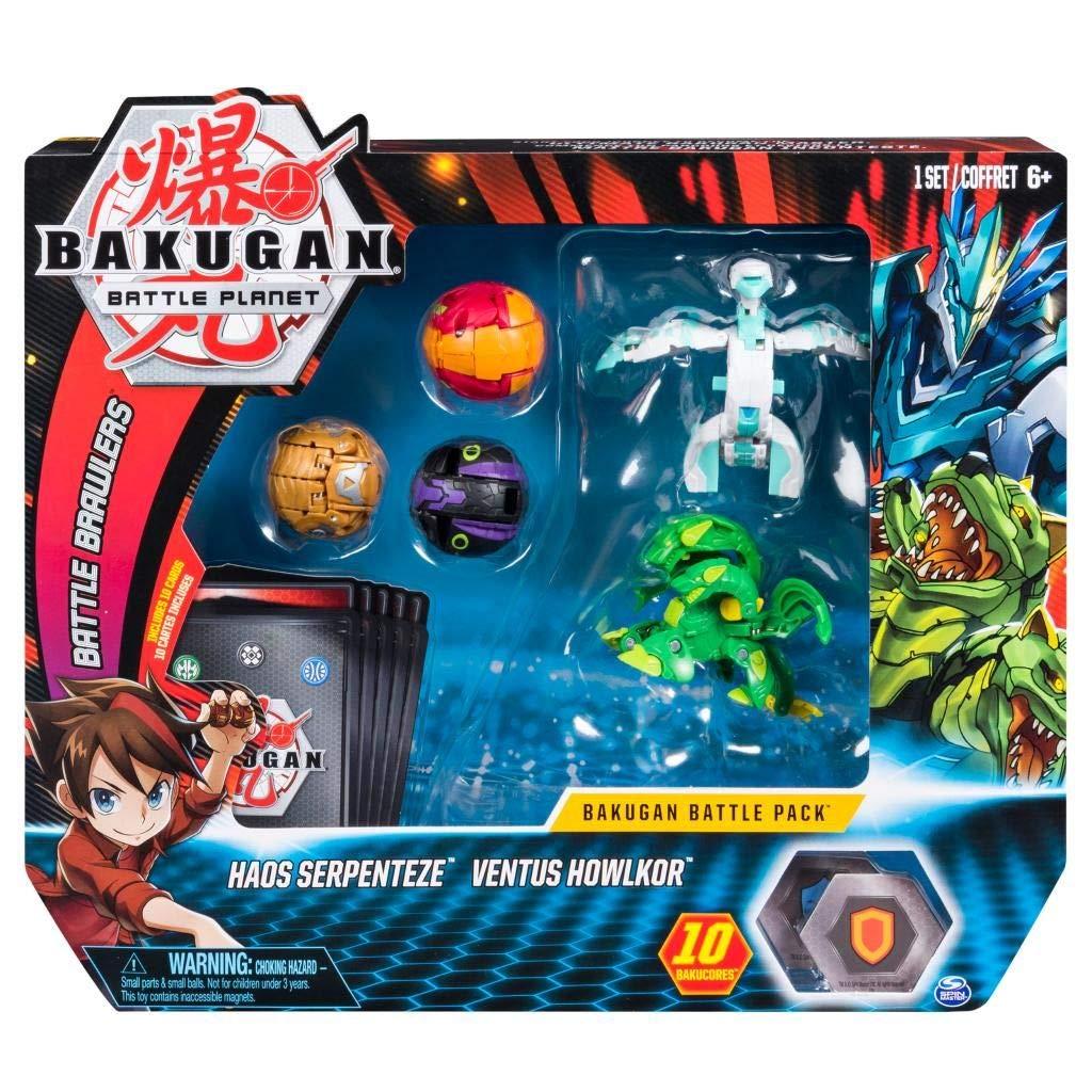 BAKUGAN Battle Pack Surtido (los Estilos Pueden Variar), Multicolor