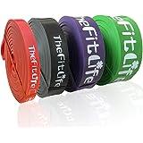 TheFitLife Bandas Elasticas Fitness Musculacion - Cintas Elásticas de Resistencia para Pull-ups Asistidos, Cross-Training, Do