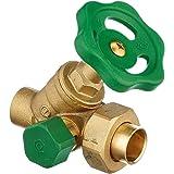 Soporte de ducha oculto//longitud 150 mm//grifo mezclador termost/ático placa posterior BSP rosca juego de conexi/ón 15 x 1//2 x L 150