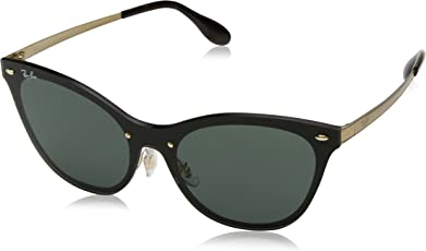 Ray-Ban UV Protected Cat Eye Women's Sunglasses - (0RB3580N043/7143|43|Dark Green Color)