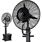 Industrial Wall Ceiling Mount Humidifier Outdoor Misting Fans for Patios