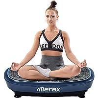 Merax Profi Vibrationsplatte Wipp Vibration Technologie + Bluetooth Musik, Riesige FL?Che, 2 Kraftvolle Motoren…