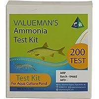 Valueman Aqua Culture & Aquarium Water Testing Kit (for The Estimation of Ammonium) - 200 Test