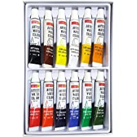 Camel Artist 5ml Water Color Set - 12 Shades (Multicolor)