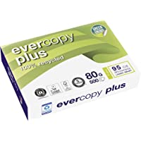 Clairefontaine Evercopy+ CIE95 Ramette de 500 feuilles A4 80g papier recyclé blanc Lot de 5