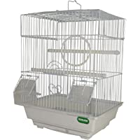 Heritage Cages 2015 Warwick Small Budgie Finch Canary Bird Cage 30x23x39CM Pet Home
