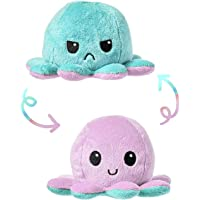 Ek Rag The Original Reversible Octopus Plushie | Show Your Mood Without Saying a Word Reversible Octopus Plush Toy…