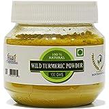 RT Fresh Wild Turmeric Powder/Kasthuri Manjal Powder/Kasthuri Haldi Powder/Curcuma Aromatica/Jangli Haldi For Skin Glowing (1