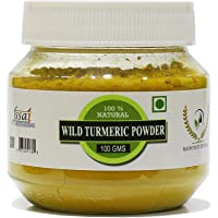 RT Fresh Wild Turmeric Powder| Kasthuri Manjal Powder| Kasthuri Haldi Powder| Curcuma Aromatica/Jangli Haldi For Skin…