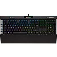 Corsair K95 RGB Platinum Clavier Mécanique Gaming (Cherry MX Speed, Rétro-Éclairage RGB Multicolore, AZERTY) Noir