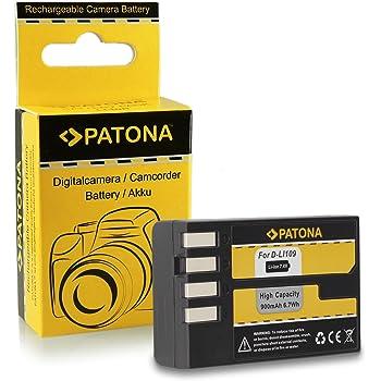 Batteria D-Li109 DLi109 per Pentax K-2 | K-30 | K-50 | K-500 | K-r e più… [ Li-ion; 900mAh; 7.4V ]
