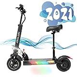 SOUTHERN WOLF Elektrisk skoter med 45 km/h 800 W motor 45 km/h 10 Ah vaxning, elektrisk skoter vikbar elektrisk skoter för vu