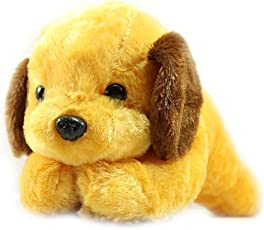 Babique Cute Brown Dog Animal soft Push Toys For Kids Birthday Gift 26 cm