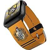 Harry Potter - Hufflepuff Correa para smartwatch con licencia oficial, compatible con Apple Watch (no incluido) Ð apta para 3