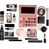 LUJO New Nude Eyeshadow, Essential Oil, Primer, Foundation, Compact Powder, Loose Powder, Concealer, Eyeliner, Mascara…