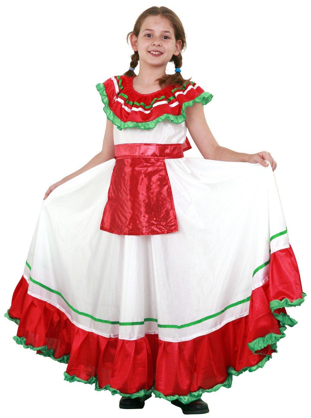 Boys Toys – Disfraz Mejicana 5-6 Años Niñas 5016