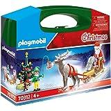 PLAYMOBIL Christmas Maletín grande Navidad, A partir de 4 años (70312)