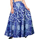 Silver Organisation Wrap-Around Long Skirt with Prints (Multicolor,)