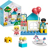 LEGO 10925 DUPLO spelrum spelbox för småbarn från 2 år, stora stenar, pedagogiska leksaker