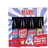 Slush Puppie Syrup Pack of 4 Assorted Flavours - Color: Multipack