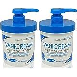 Vanicream Skin Cream With Pump Dispenser 16 oz (Pack of 2)