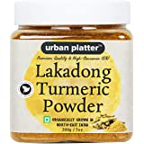 Urban Platter Lakadong Turmeric Powder, 200g [Organically Grown in North-East India, Premium Quality & High-Curcumin (5%)]