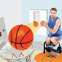 GeekGoodies 'Toilet Shooter' Game, Office Desktop Mini Basketball Decompress Game Hilarious Hoop Practice in The…