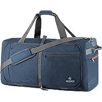 Waynorth 65L Faltbare Reisetaschen Leichte Sporttasche mit Schuhfach für Weekender Reisen Herren Damen