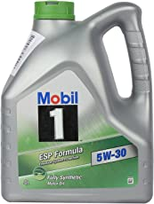 Mobil 1 ESP 5W-30 Fully Synthetic Motor Oil for Cars (4 L)