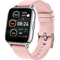 "Iporachx Smartwatch, Relojes Inteligentes Mujer PantallaTFT de 1,69"", Reloj Inteligente Con 24 modos deportivos, IP67…"