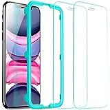 """ESR Protector de Pantalla para iPhone 11 y iPhone XR 6.1"""", Anti-Burbujas, Anti-arañazos, Antihuellas Cristal Vidrio Templado,"""