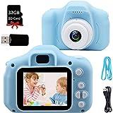 Fotocamera Bambini Macchina Digitale Bambini - 8MP HD 1080P IPS 2 Pollici 32 GB Mini Ricaricabile Fotocamera Digitale per Bam