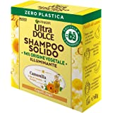 Garnier Shampoo Solido Ultra Dolce Camomilla e Miele per Capelli Luminosi e Brillanti, Confezione 100% Ecologica senza Plasti