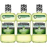 Listerine Kariesschutz Antibakterielle Mundspülung (gegen Karies mit milderem Geschmack) 3er Pack (3 x 500ml)