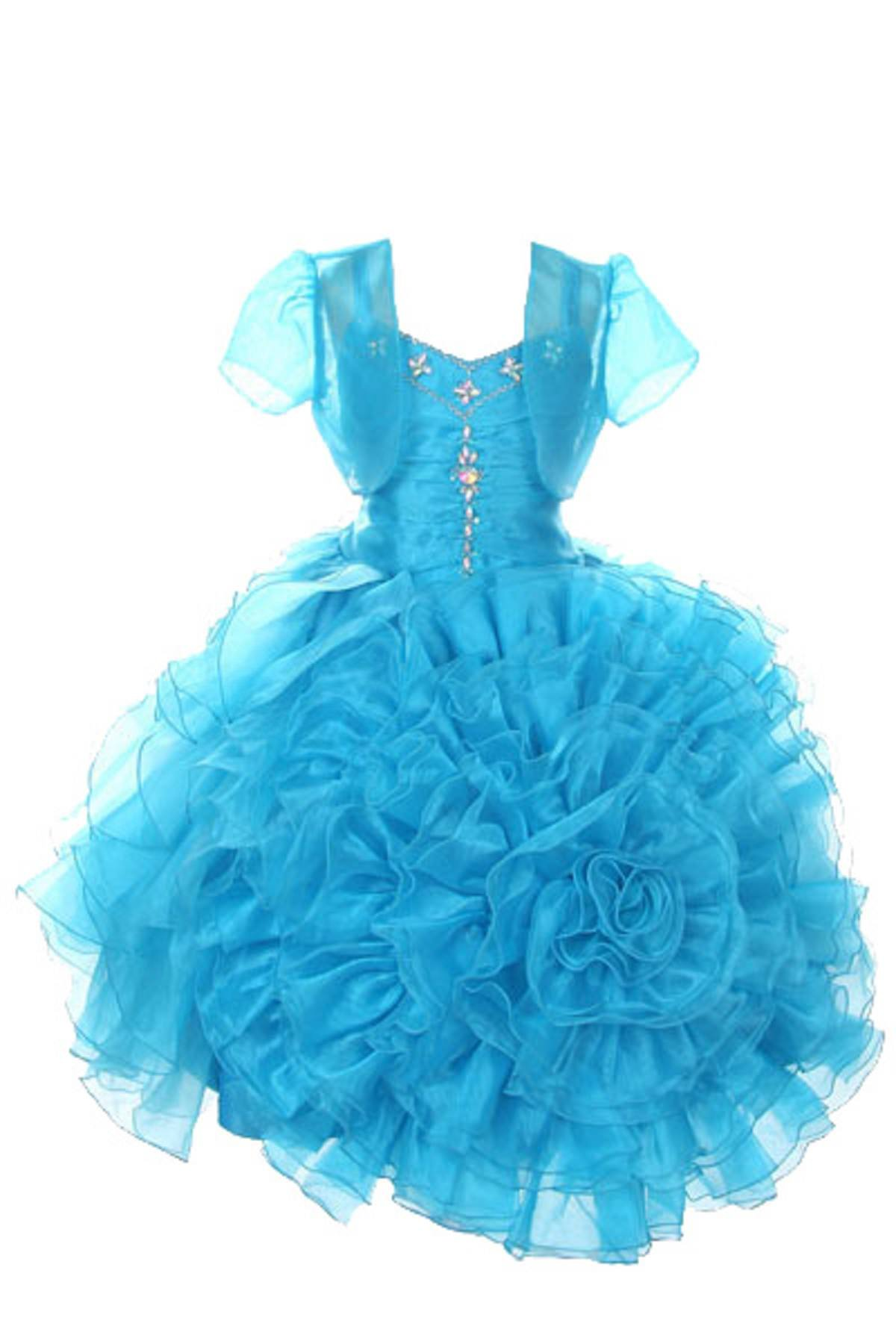 0a01f1ab4e6f SOFYANA Baby - Girl s Netted Princess Birthday Party Wear Frock ...