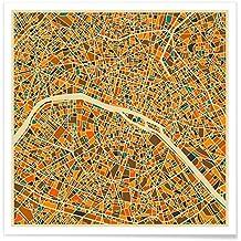 hochwertiger Kunstdruck San Francisco USA Karte von Main ...