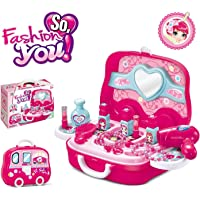 Magicwand® Pretend Play Carry Along Beauty Make-Up Vanity Box Case