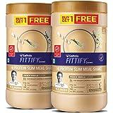Saffola FITTIFY Gourmet Hi-Protein Slim Meal Shake - French Vanilla, 420 gm (Buy 1 Get 1 Free)